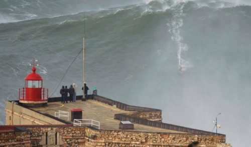 Surf at Nazaré